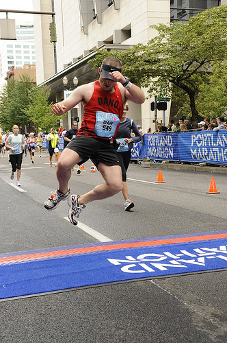 Looks like he reached his target. Without a finish line, how do you know when you're done, or how you are progressing?