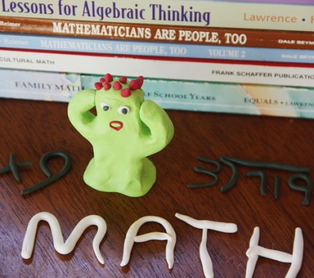 Does math cause happiness to go away? There are two solutions, avoid math, or master your fear.