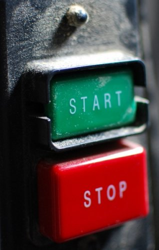 It can be hard to press the START button. But if you don't, who will?