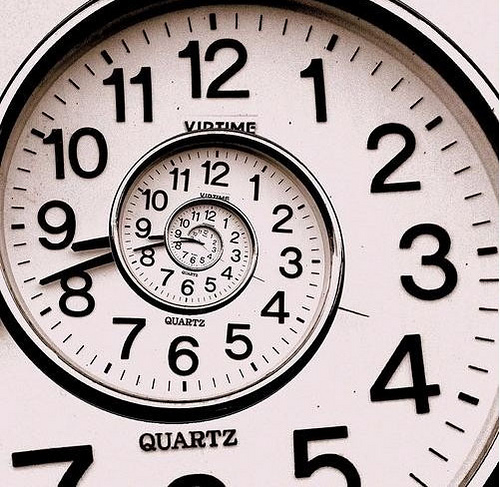 Is time spiraling away from you? You can't delay!