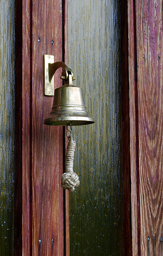 This bell is pretty to look at, but it exists to be rung.