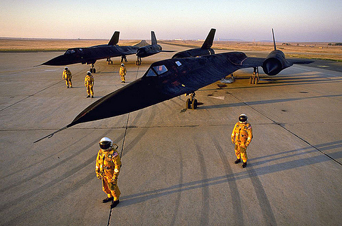 Travelling so fast the plane stretched several inches as it heated up at Mach 3, was it possible? Yes. And the reason it existed was to see things without being seen. Now they are Museum Pieces, as we have Satilites to do that, so now it is no longer worth flying.